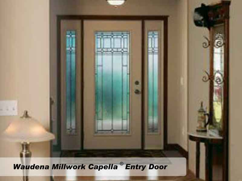 Waudena Millwork Capella Entry Door & Doors Gallery pezcame.com